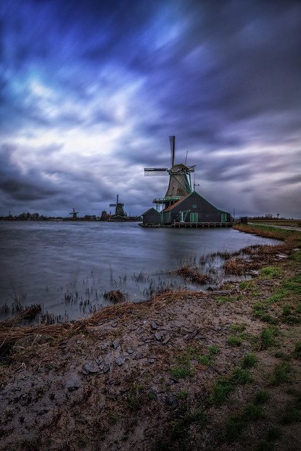 Windmills on Zaanse Schans
