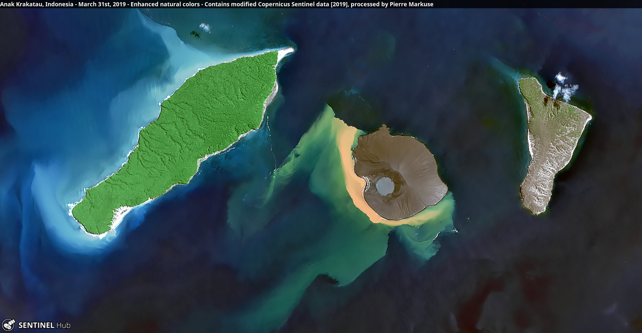 Anak Krakatau, Indonesia - March 31st, 2019