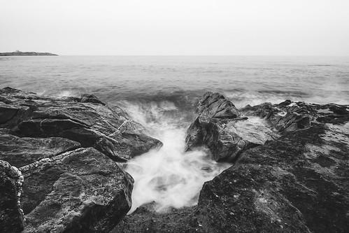White Rock Beach, Killiney, Ireland | by darkmavis