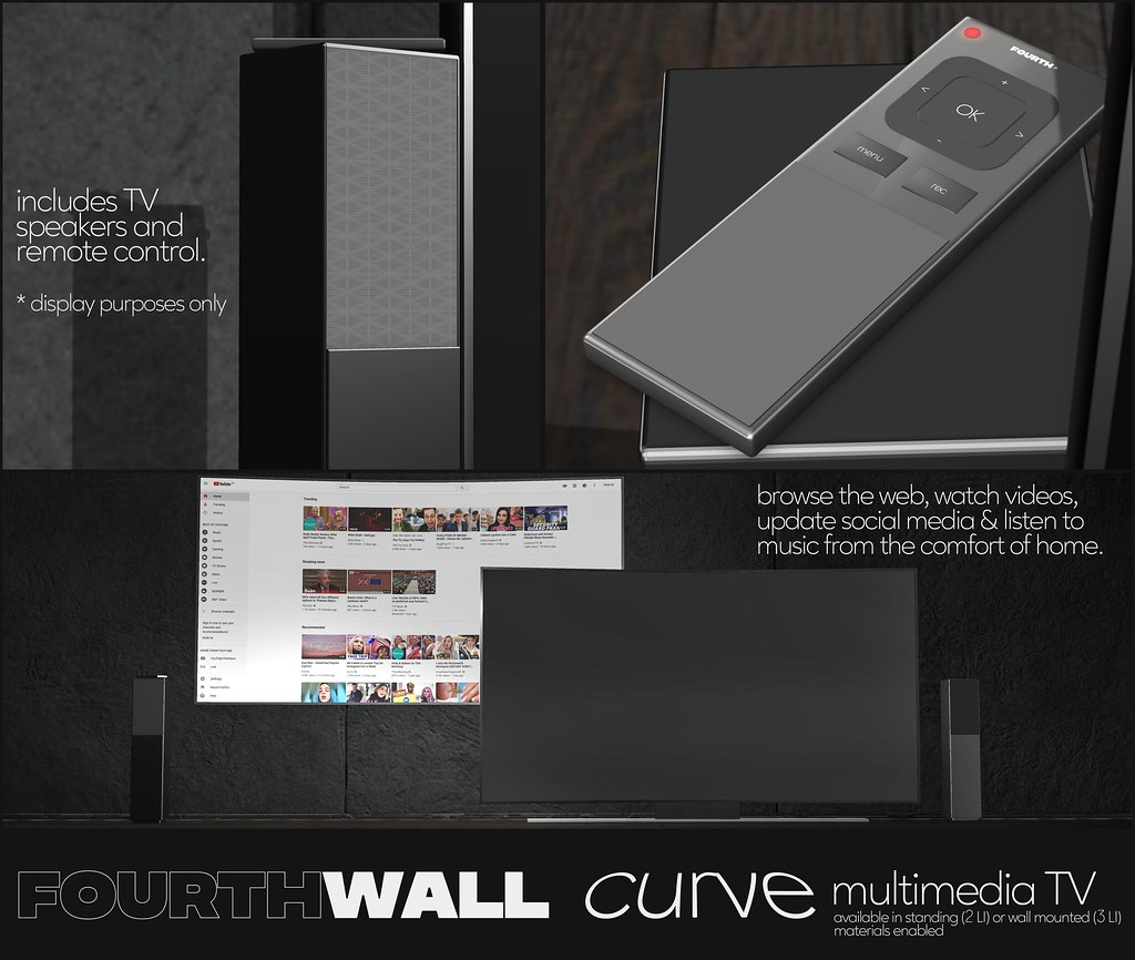 Fourth Wall / Curve Multimedia TV / Fifty Linden Friday