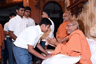 Std-10-11-12-visit-to-Haridham-for-Swamishree's-Blessings-(91) | by Atmiya Vidya Mandir
