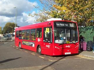 Abellio London bus 8810 at Hampton Court station on route R68   by Tom Burnham
