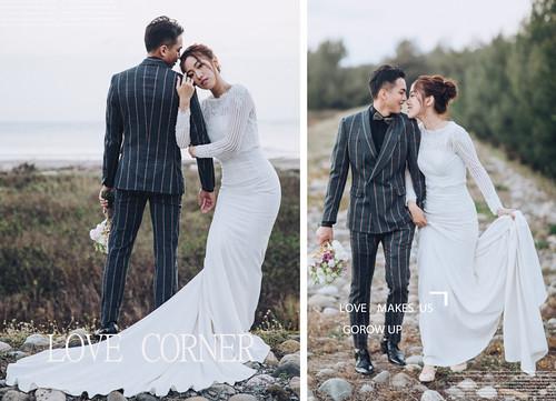 台南婚紗 一場充滿視覺衝擊感的婚紗 澤于 X  LuLu 聯合打造婚紗企劃   by Cheyu Image