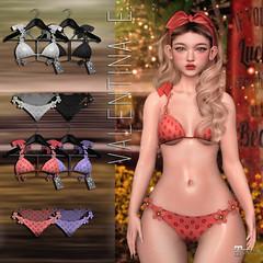 NEW! Valentina E. Marguerite Bikini @ Belle!