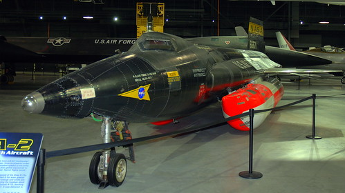 North American X-15A-2, National Museum of the US Air Force, Dayton, Ohio, USA. | by Roly-sisaphus