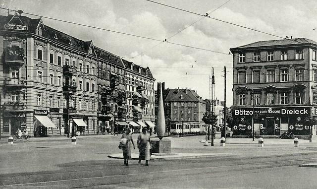 Berlin-Reinickendorf, Residenz- Ecke Markstraße, 1937