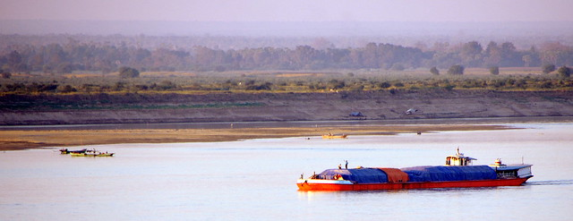 The Quiet of the Irrawaddy River