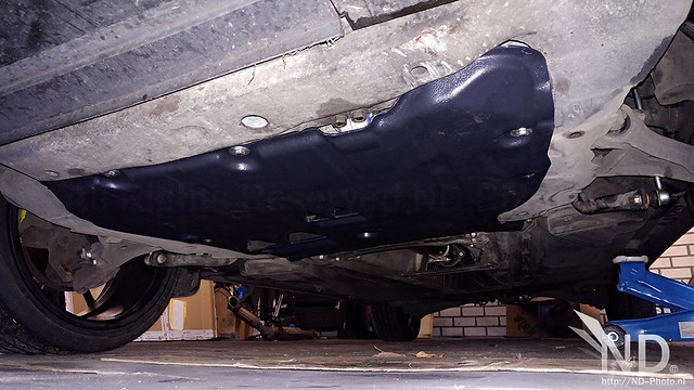 Volvo S80 2.4T Rezaw Plast Engine Undertray Fitted