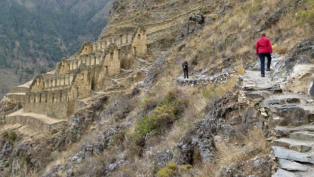 Die Ruinen von Pinkuylluna