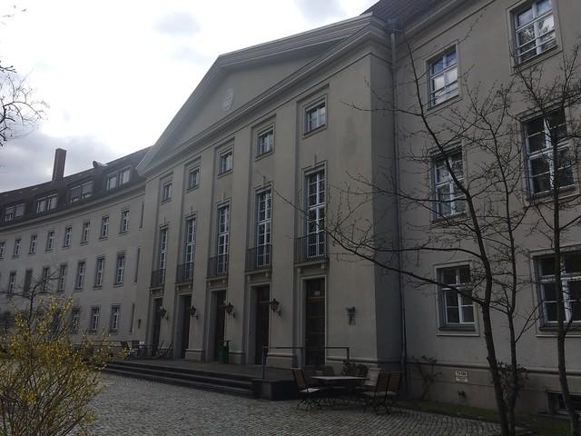1936/38 Berlin Reichsleitung Reichsarbeitsdienst (RAD) von Kurt Heinrich Tischer Bismarckplatz 1 in 14193 Grunewald