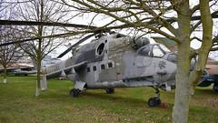 Mil Mi.24V c/n 730701 Czech Republic Air Force serial 0701