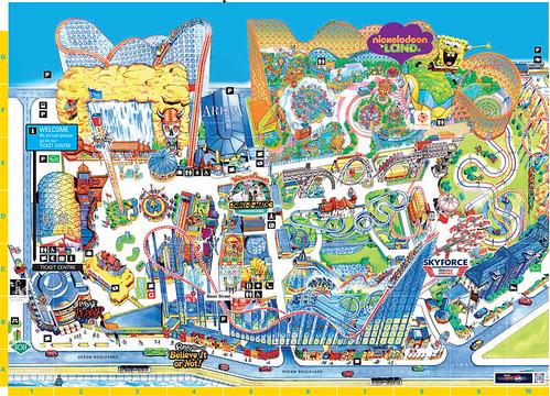 Blackpool Pleasure Beach 2016 Park Map | by ThemeParkMedia