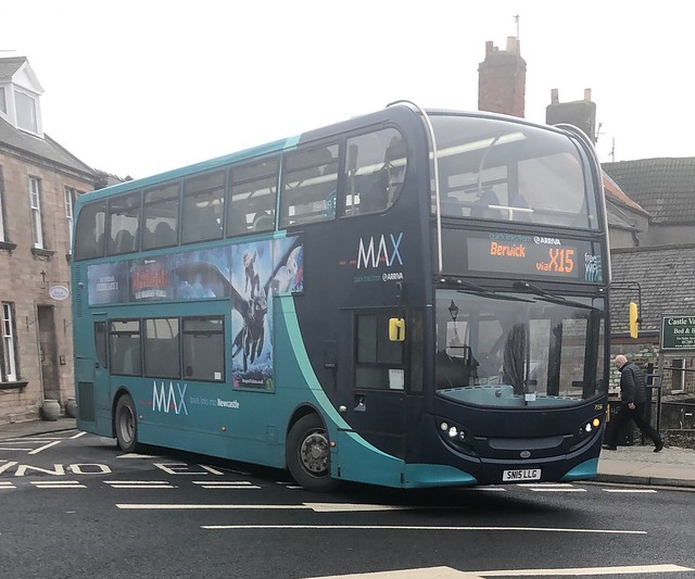 Arriva North East 7556 SN15 LLG (08/03/2019)