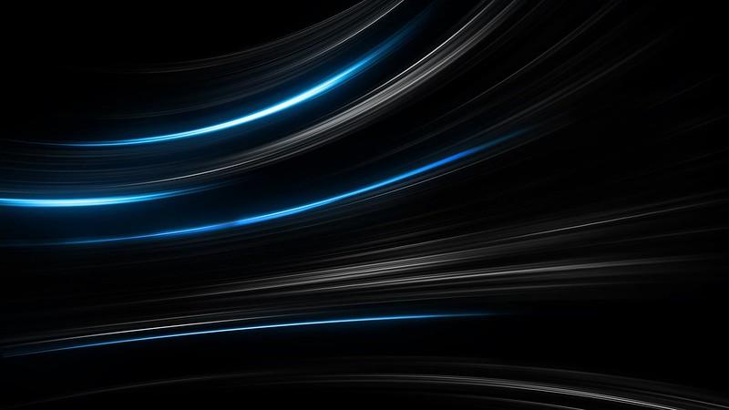 Обои черный, синий, абстракция, полосы картинки на рабочий стол, фото скачать бесплатно