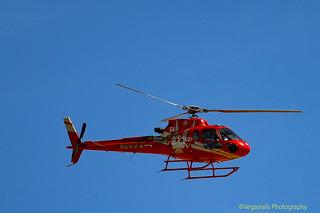 Grand Canyon N841PA Eurocopter AS-350 AStar returning to Boulder City Muni  Airport