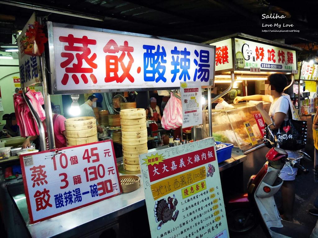 台北南機場夜市小吃美食餐廳推薦便宜蒸餃 (1)