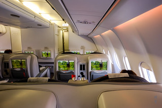 Business Class cabin | by A. Wee