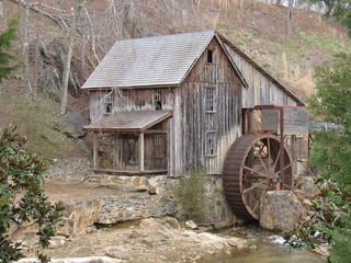Sixes Grist Mill---Canton, Ga.
