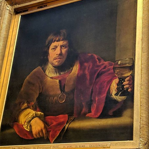 Went to visit one of my favourite paintings in LDN. Always reminds me of Oliver Reed. (Also in a room with Rembrandt and his stuff is cool too of course...) @wallacemuseum | by jemimahknight