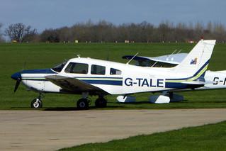 G-TALE Piper PA-28-181 Cherokee Archer II cn 28-8290048 Tatenhill Aviation Ltd Sywell 24Mar19