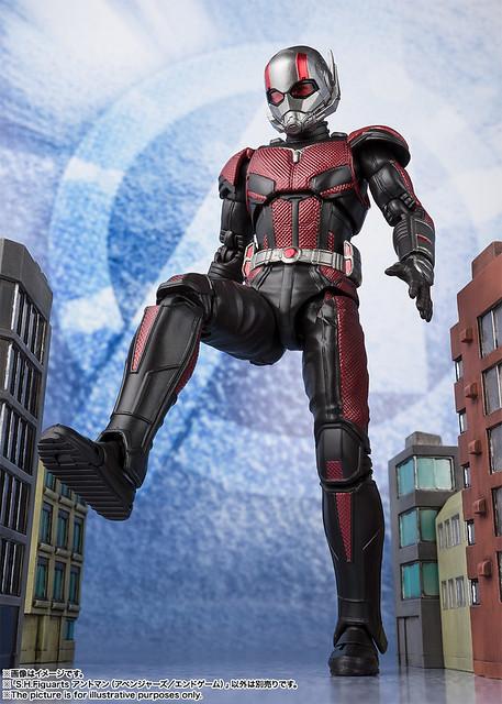 自由改變身軀尺寸的夥伴回來了!S.H.Figuarts 《復仇者聯盟:終局之戰》「蟻人」!アントマン(アベンジャーズ/エンドゲーム)