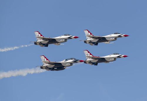 Thunderbird Take Off Manuevers