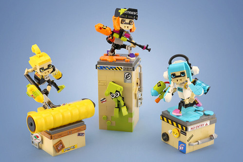 Splatoon | by LEGO 7