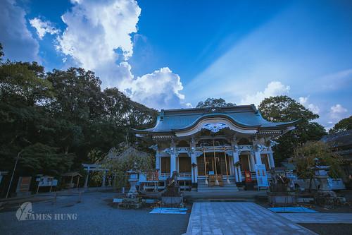 武雄 kyushu sunset cloud 武雄神社 takeo takeoshrine 九州 japan shrine