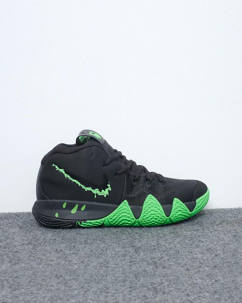 detailed look c3cbf dff7c 13253 - 755k sz 40 - 45 Nike Kyrie 4 Halloween - Black Gre ...