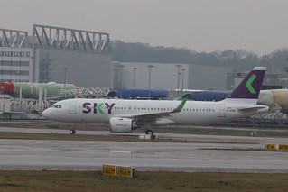 A320neo Sky Airline CC-AZG | by XFW-Spotter