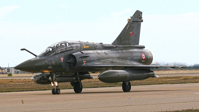 French Air Force Dassault Mirage 2000D - 3-JD