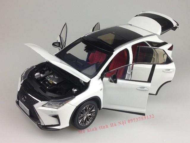 1 18 mo hinh tinh Paudi Dealer Lexus RX200T qua tang sang trong y nghia dan ong ha noi viet nam diecast 118 (15)