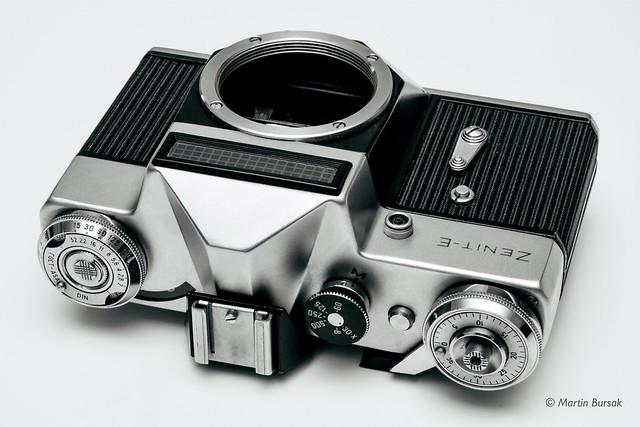 Zenit - E Russian manual film camera from 1970