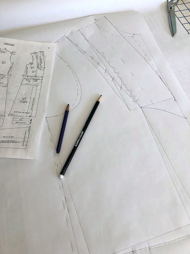 Drafting a Pattern from a Made to Measure Pattern Block | by vintage laura