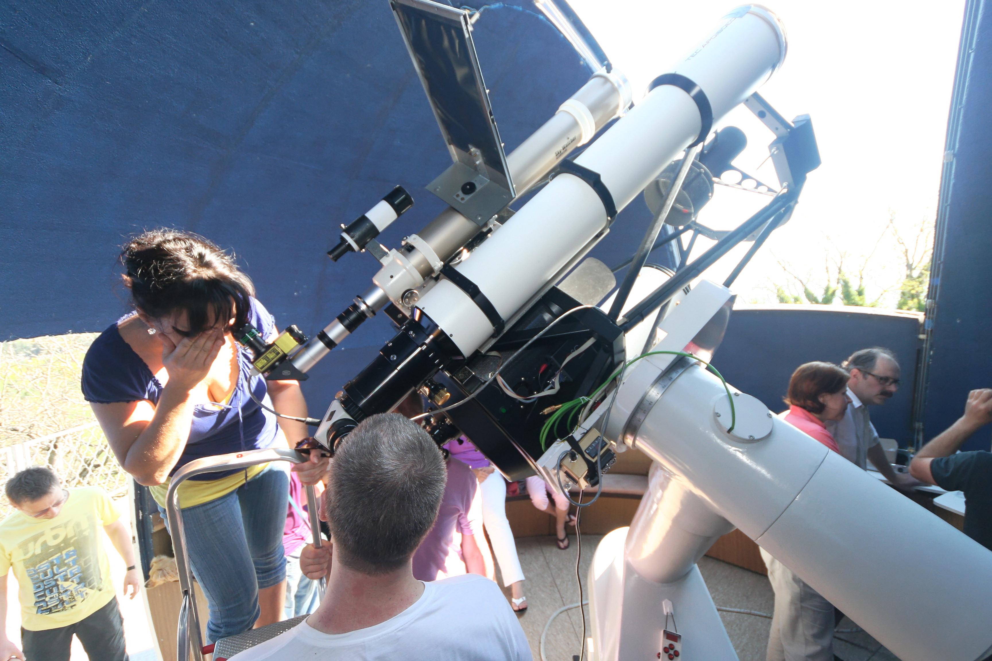 Einweihungsfeier 51cm-Teleskop