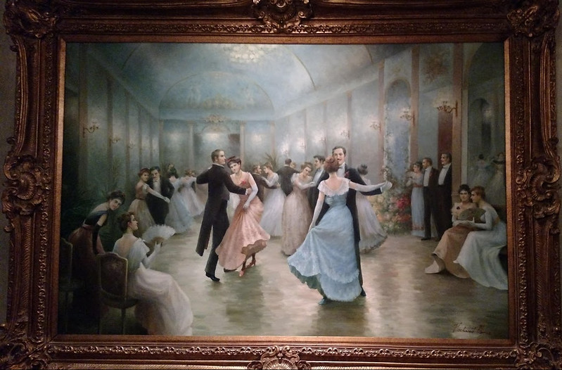 painting of a dance