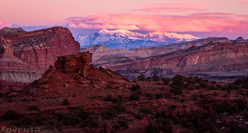 Panorama Point Sunset