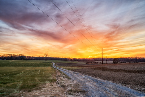 Power Lines at Sunset | by Vincent1825