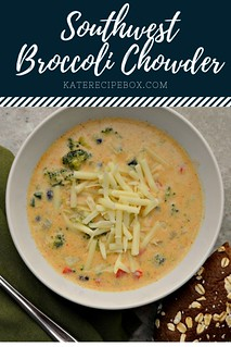 Southwest Broccoli Chowder | by katesrecipebox