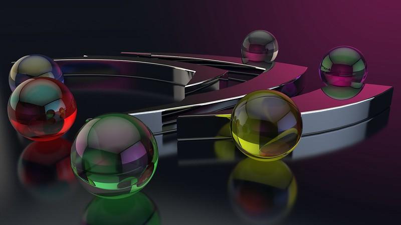 Обои шары, форма, стекло, поверхность, блеск картинки на рабочий стол, фото скачать бесплатно