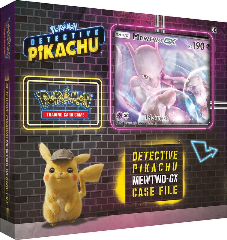 POKEMON Detective Pikachu Mewtwo GX Case File