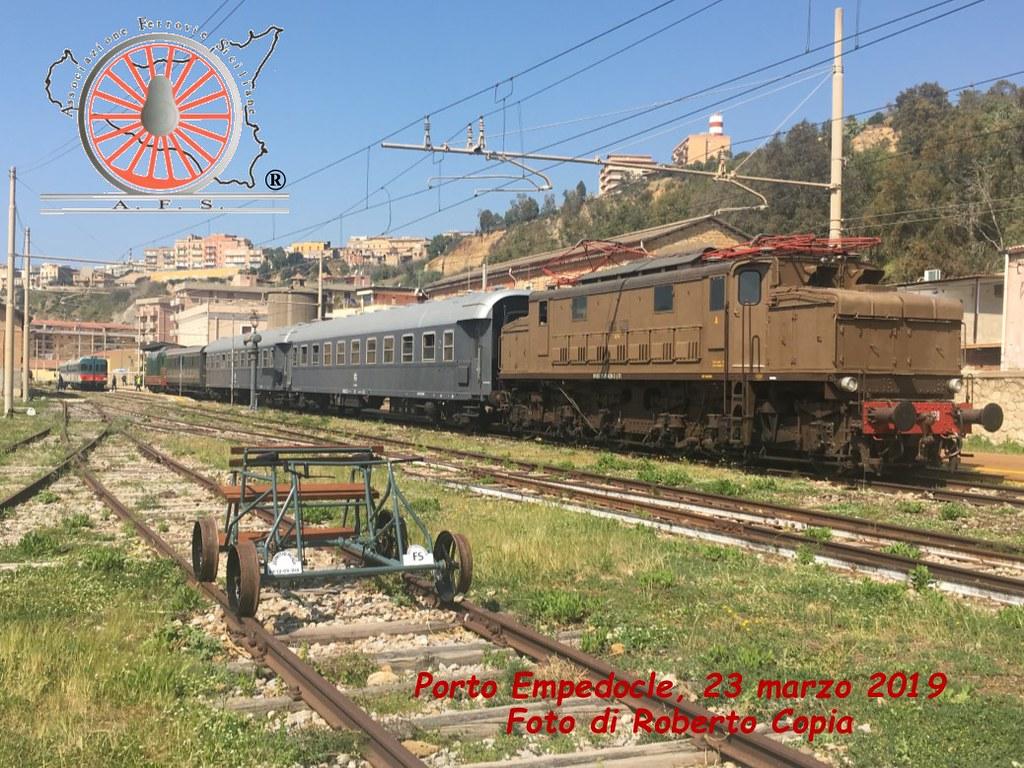 Il parco ferroviario di Porto Empedocle (Foto del Mese n. 108 - Aprile 2019)