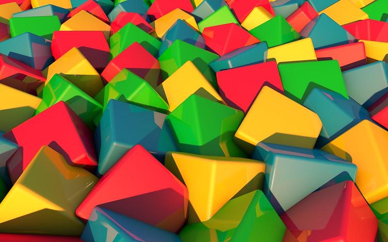 Обои кубики, яркий, разноцветный картинки на рабочий стол, фото скачать бесплатно
