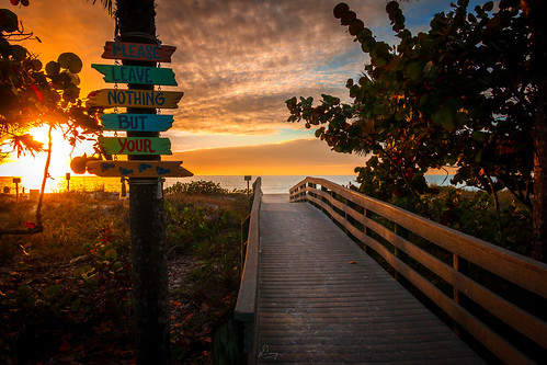 Sunset at Indian Rocks Beach | by dannygreyton