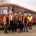 Gemeinsam mit unserem Bürgermeisterkandidaten Frank Lukoschus habe ich die Museumsbahn in Ocholt besucht.