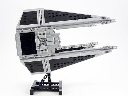 TIE Interceptor Lego MOC | by barneius industries
