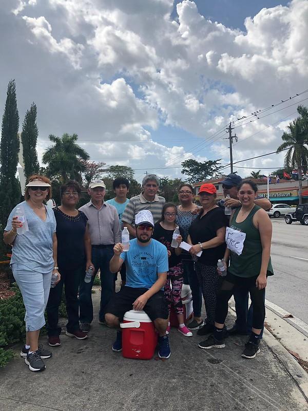 Evangelizando en Miami