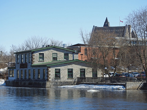 almonte ontario canada mississippimills spring printemps mississippiriver mississippiironworks barleymowpub youngbrothersfoundry ironfoundry