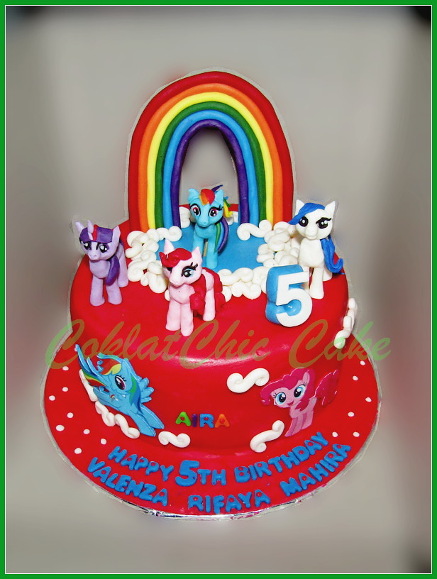 Cake My Little Pony VALENZA 20 cm