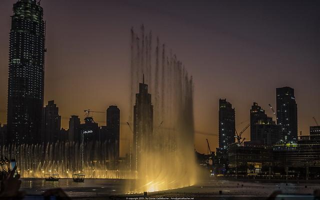 Big Dubai Fountein